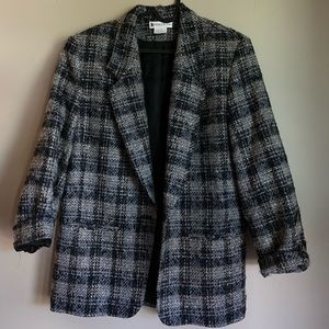 Vintage Pendleton Plaid Blazer